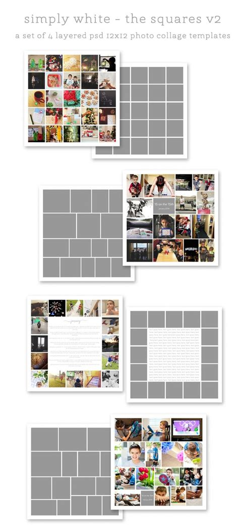 digital photo collage template 25 best ideas about digital project on