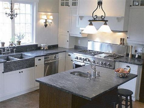 Kitchen Soapstone Countertops Cost For Classic Kitchen Kitchen Countertops Cost