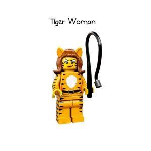 lego minifigures series 14 tiger