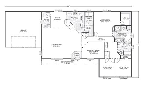 rambler open floor plans rambler home plan joy studio design gallery best design