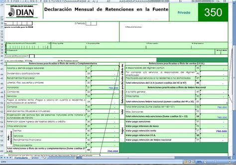 declaracin de retencin en la fuente gerenciecom declaraci 243 n de retenci 243 n en la fuente modelos y formatos