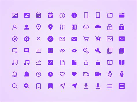 Basic Icon by Basic Icon Set Sketch Freebie Free Resource For