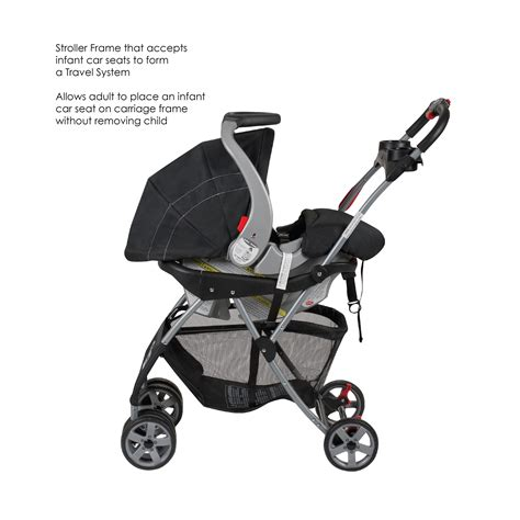 baby trend snap and go infant car seat carrier stroller baby trend snap n go ex universal infant car