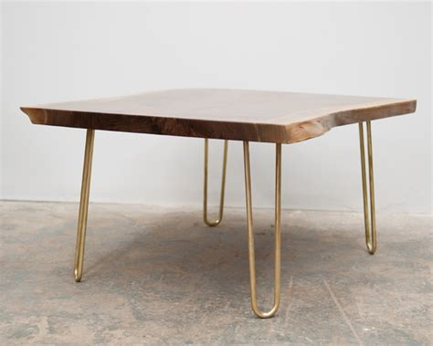 hairpin legs table brass hairpin legs from reform brass design sponge