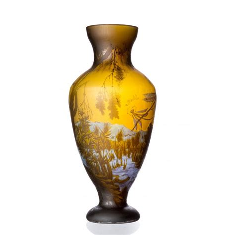 Vase Of Water by Water Dragonfly Vase Galle Type