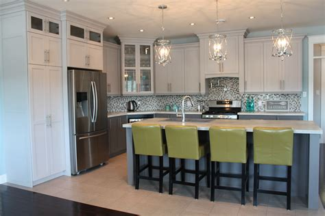 Signature Kitchens And Baths by Painted Two Tone Kitchen Signature Kitchens And Baths