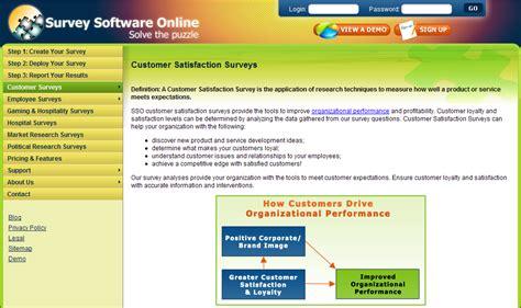 Online Survey Software - new survey software freeware mission