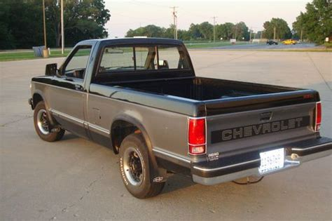 purchase used 1991 chevrolet s10 tahoe 78k 4 3 auto in