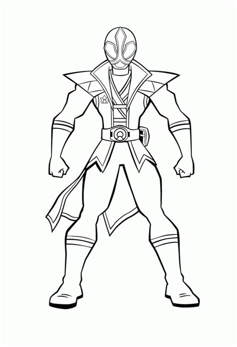 power rangers samurai coloring pages to print how to draw a power ranger coloring home