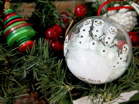 Child Handmade Ornaments - diy ornaments to make with how tos diy