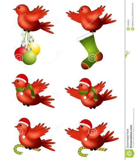 christmas welcome birds winter birds flying stock illustration image 7086383