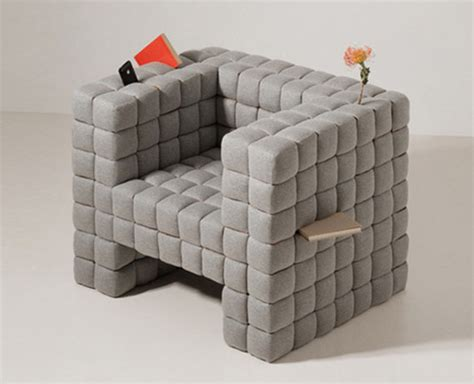 Comfy Armchair Design Ideas Lost Found Comfy Chair Cushioned With Built In Storage