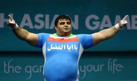 Bench Press Heavy Hossein Rezazadeh Iranian Hercules Bearmythology