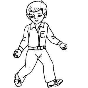 Printable Boy Coloring Pages Coloring Me Coloring Pages Of A Boy