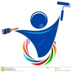 painter logo stock image image 25183381