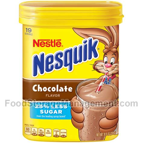 9 Ingredients And Directions Of Nesquik Chocolate Igloos Receipt by Nestle Nesquik Chocolate Powde 028000679903 Food