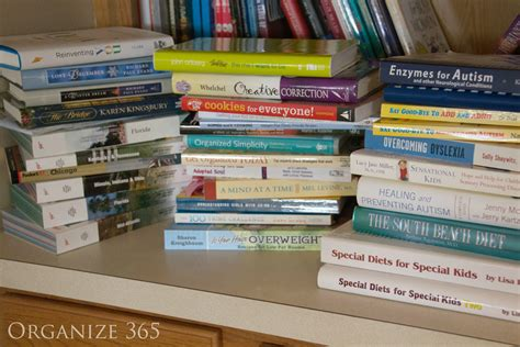 organization books turning clutter into organize 365