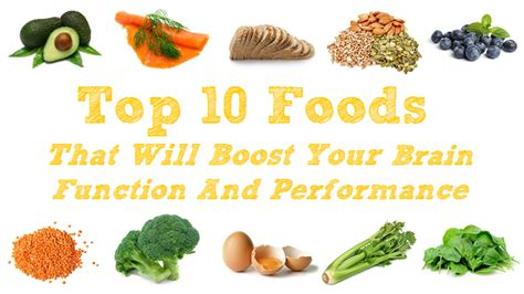 how to feed a brain nutrition for optimal brain function and repair books top 10 foods that will boost your brain function and