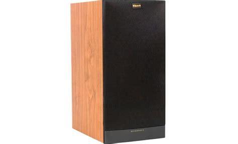 klipsch reference rb 81 ii black ash bookshelf speaker
