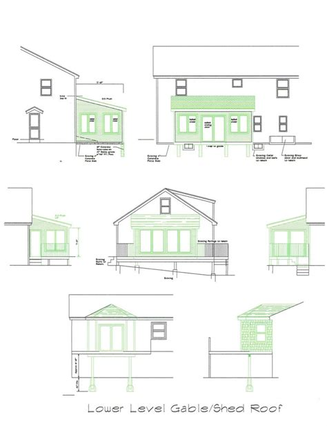 Sunroom Construction Details Sunroom Plan Blueprints Covered Deck 3 Season Room 16 X12