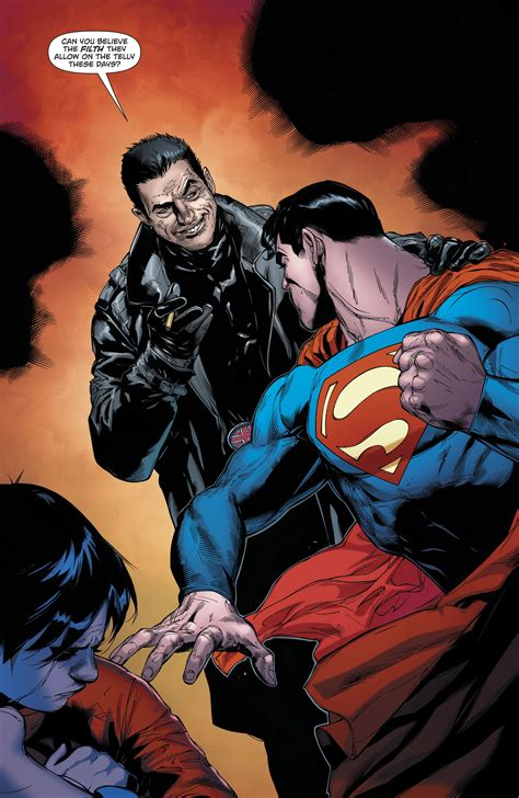 Superman Rebirth Dc Comic dc comics rebirth spoilers superman 24 reveals a family feud with superboy a villain heading