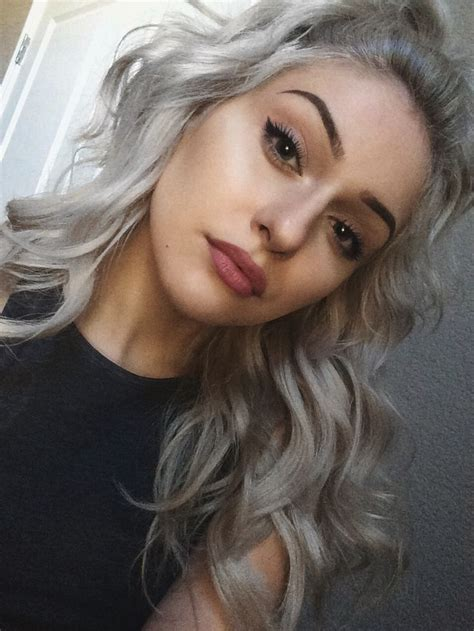 Pinterest Silver Hair | silver hair lovers hair pinterest silver hair