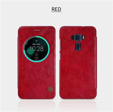 Asus Zenfone C Sarung Flip Cover Ume Classic nillkin qin series leather for asus zenfone 3 zf3 ze552kl