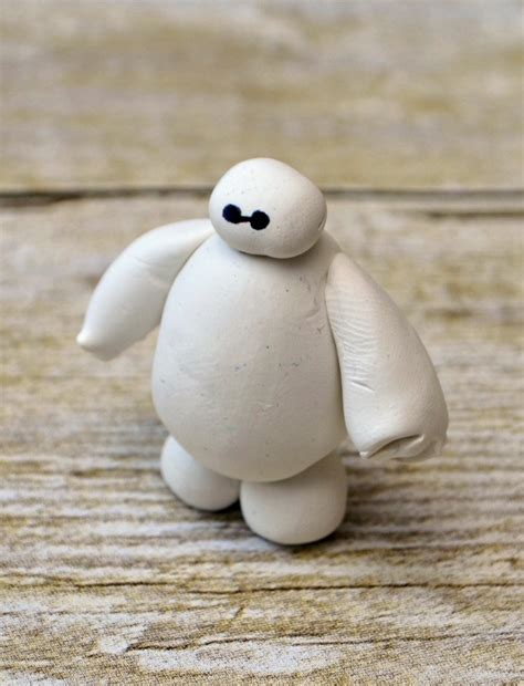 baymax clay figurine fun family crafts