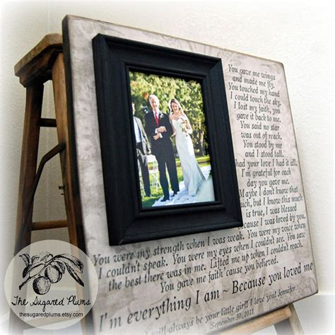Wedding Gifts For Parents by Wedding Gifts For Parents Parent Wedding Gift Personalized