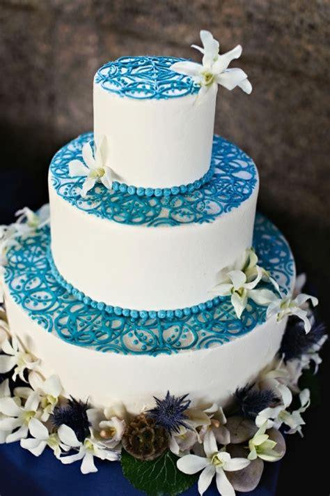 Hochzeitsläden by Hochzeitstorte Blau Hochzeitstorte Blau Wei 223
