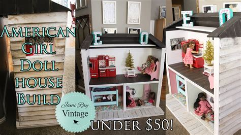 how to make an american girl doll house how to build an american girl doll house out of pallets