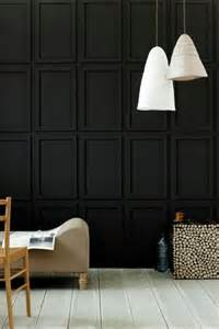 Black Wainscoting Keep It Chic Bumble S Design Diary