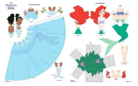 Free Disney Princess Paper Dolls Paper Princess Printable