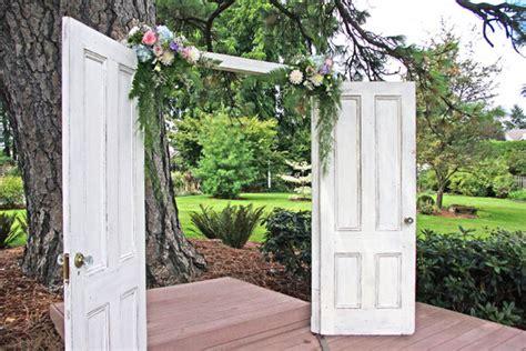 Wedding Arch Using Doors by Gorge Wedding
