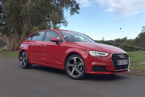 Audi A3 T R by Audi A3 Sportback 1 4 Tfsi Cod 2017 Review Carsguide