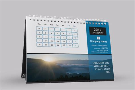 desk calendar design templates corporate table calendar designs www pixshark