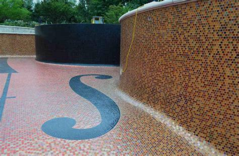 decorative pool tiles great pool tile ideas to create a comfortable swimming