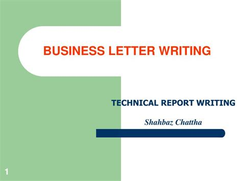 business letter writing powerpoint ppt business letter writing powerpoint presentation id