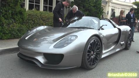 road porsche 918 spyder porsche 918 spyder on the road