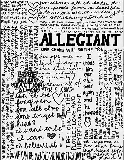 Allegiant Divergent Quotes. QuotesGram
