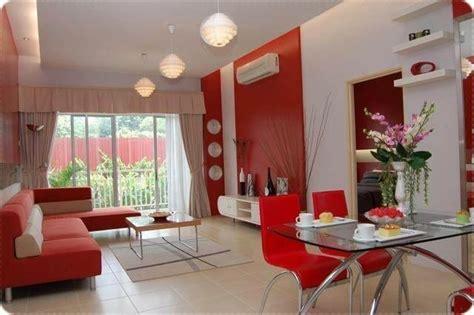 idea deko ruang tamu  ruang makan  apartment