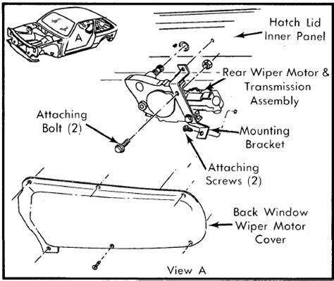 manual repair free 1985 ford ranger windshield wipe control wiper motor servo wiring diagram get free image about wiring diagram