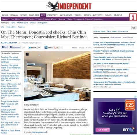 The Independent News Desk by The Independent Food Desk Review