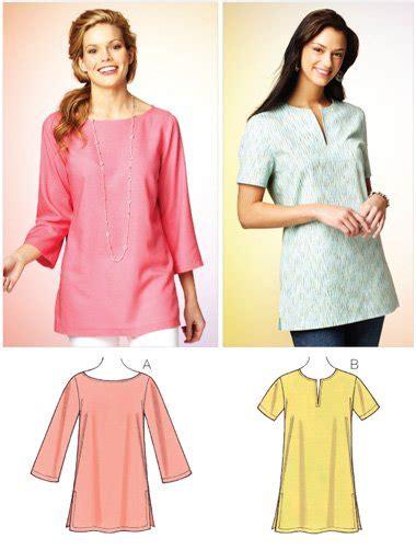 pattern sewing tunic kwik sew 3870 misses tunic