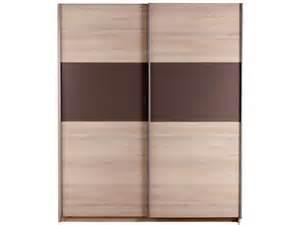 armoire penderie 2 portes coulissantes mobilier sur