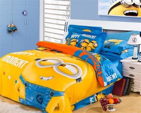 Yellow Minion Bedroom Fashion Cotton Series Minions Yellow Boy