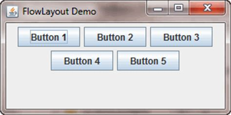 java jpanel layout java swing flowlayout