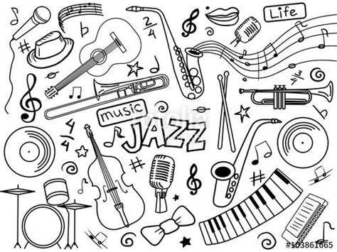 jazz music coloring pages 313 best images about music coloring pages for adults on