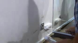 Auf Der Wand by Wasserflecken An Der Wand Entfernen Isolieren