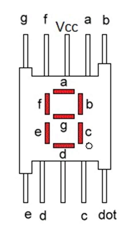 mod   segment display rookie electronics